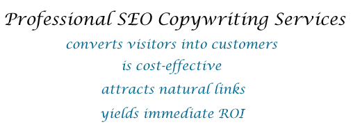 Professional SEO Copywriting Services